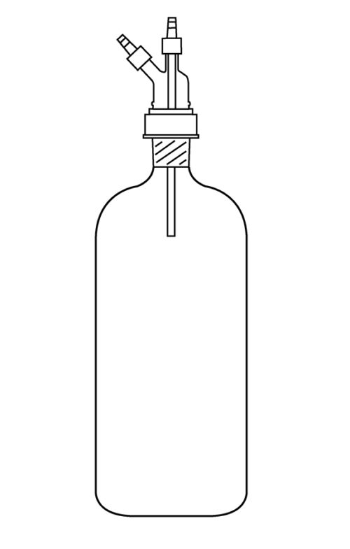 10L Filter Bottle Complete
