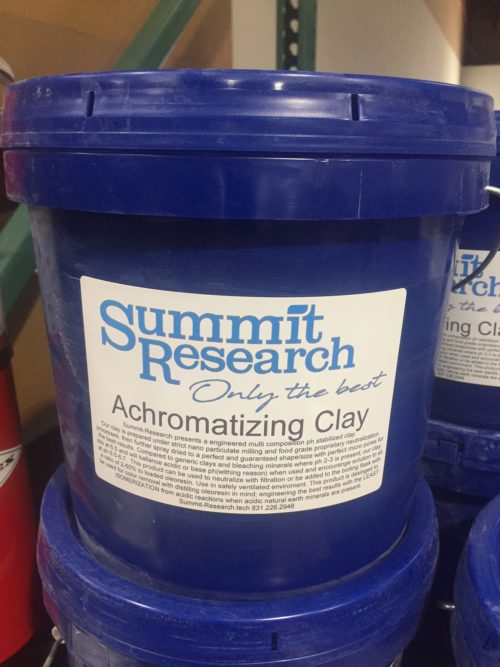 Achromatizing Clay