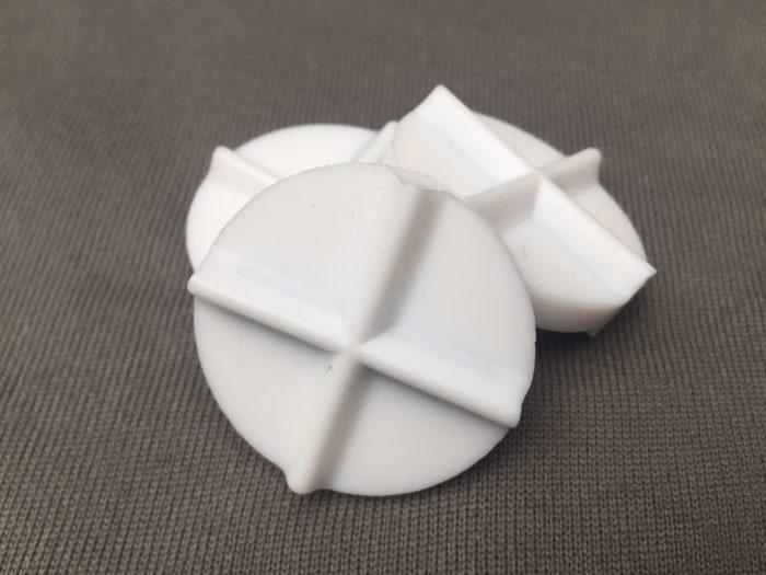 PTFE Round Cross 14x40