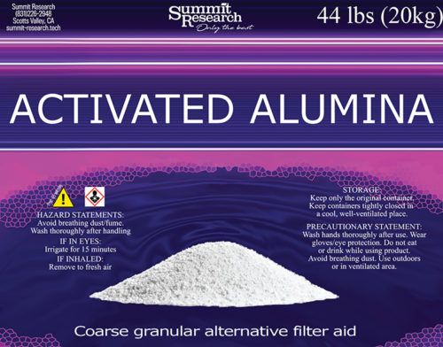 activated alumina 20kg